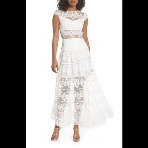 bronx and banco Dresses - Bronx and banco flamenco lace inset gown